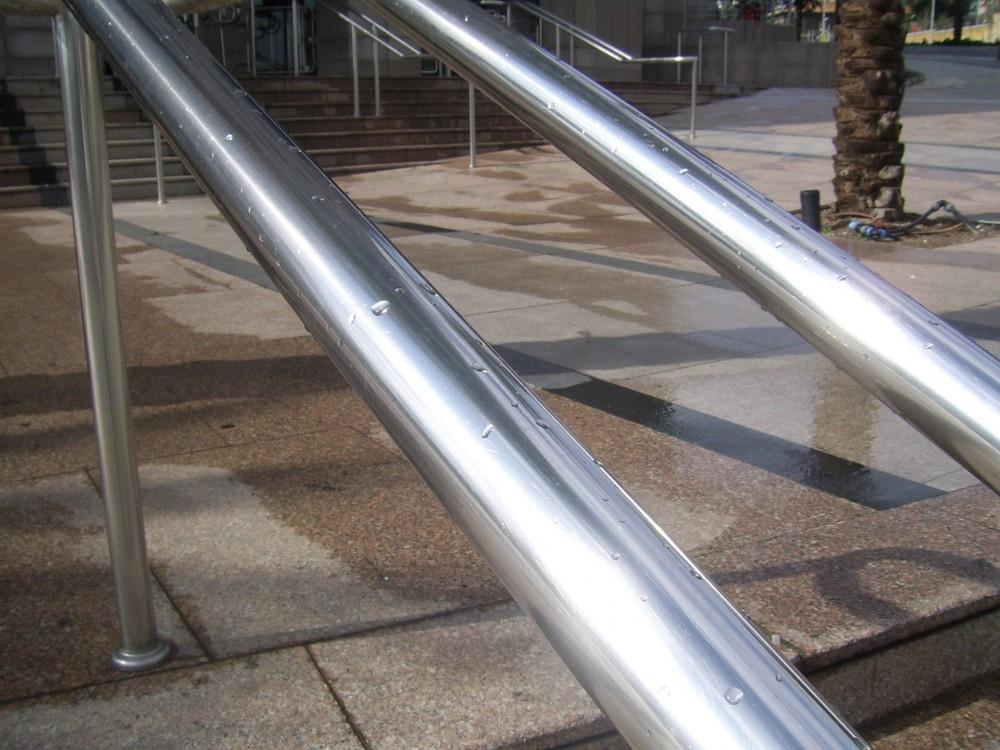 silver-railings
